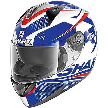 color blanco Casco para motocicleta Shark D-Skwal Dharkov KWR talla S