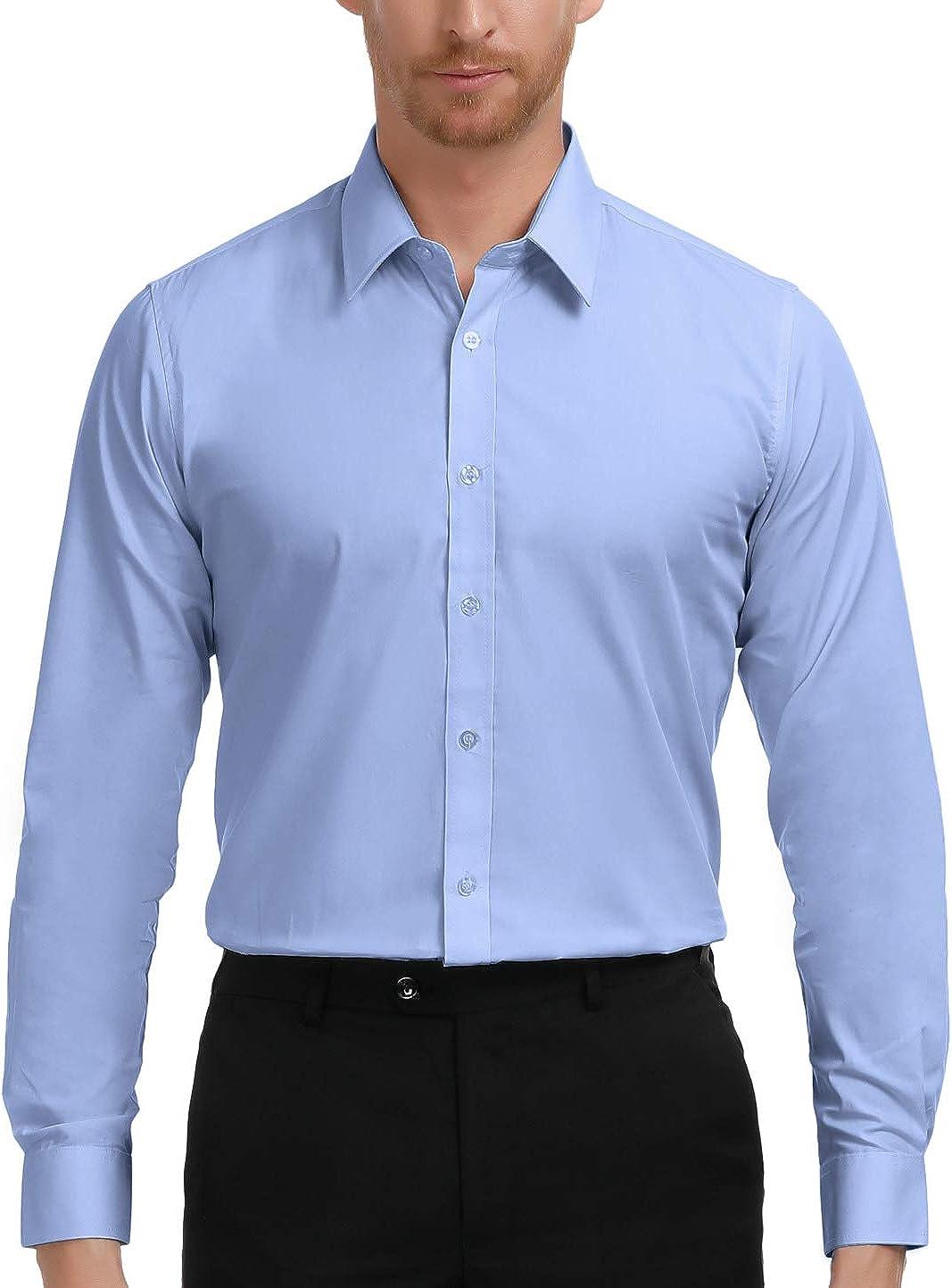 Paul Jones Men's Ranking TOP8 Long Sleeves Down Dress Button Shirts It is very popular