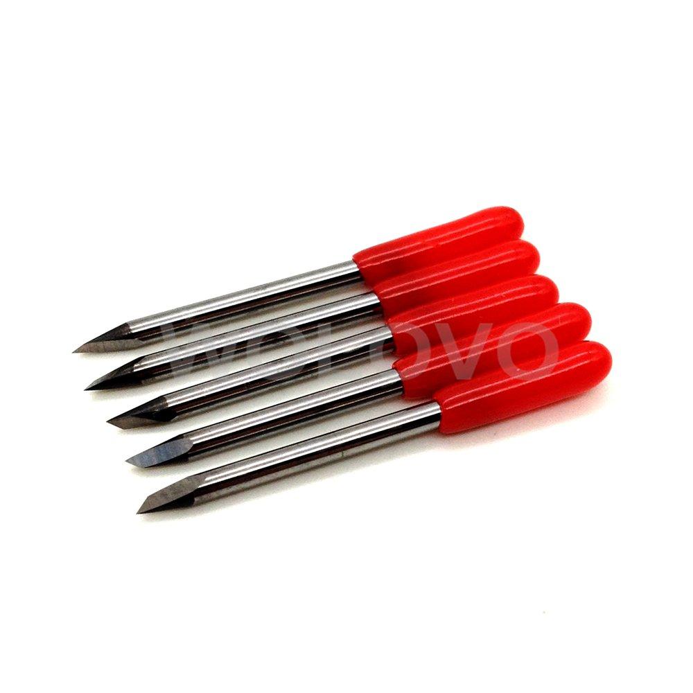 45 Grado Mimaki Cricut de corte plotter vinilo cortador Cuchillas 15 piezas + soporte para Mimaki vivienda: Amazon.es: Electrónica