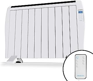 Cecotec Ready Warm 2000 Thermal - Emisor Térmico, 10 Elementos, 3 Modos de Funcionamiento, Temporizador, Mando a Distancia, Pantalla LED, 1500 W