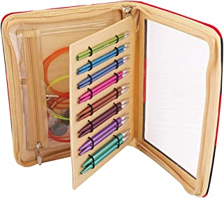 Knitpro Zing Interchangeable Circular Knitting Needles Set of 8 Pairs of Needles Accessories 47404