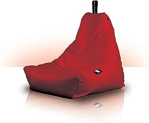 Bean Bag Crazy Kinder Sitzsack für den Innen- und Außenbereich Mehr als nur ein Sitzsack, dies ist ein extrem gemütliches Möbelstück, 11 verschiedene Farben erhältlich rot