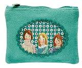 Wendekreis Berlin Vintage Girl kleine Reißverschlusstasche Kosmetiktasche Stofftasche
