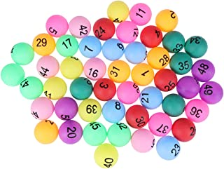 numbered balls 1 50