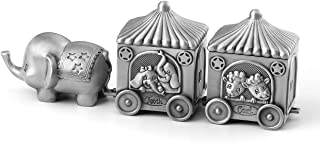 Mogoko Silver Tooth Holder, My First Tooth and Curl Keepsake Box Set, Baby Teeth Fairy Containter Gift Boxes for Child Kids