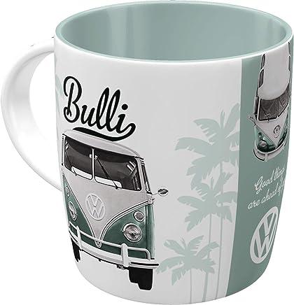 Nostalgic-Art 43033 Retro Kaffee-Becher Volkswagen - VW Bulli Good Things are aheay of you, Große Lizenz-Tasse mit tollem T1 Motiv, Geschenk-Idee für Vintage-Liebhaber, 330 ml preisvergleich bei geschirr-verleih.eu
