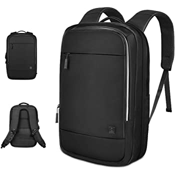 Laptop Backpack 15.6 Inch, Waterproof Computer Bag, Large Capacity Travel Backpack, Slim Business Backpack for Men & Women