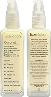 Luxe Beauty: Luxe Lotion - Face Moisturizer - Travel Size - Restore Exceptionally Glowing Skin - Balance Skin's pH - Reduce Wrinkles - Protect Against First Signs of Aging