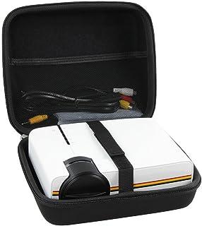 Hermitshell Hartschalen Schutzhülle für Meyoung/Elephas, tragbarer Projektor, 1080p, 1200 Lumen, LED, Mini Pico Videoprojektor