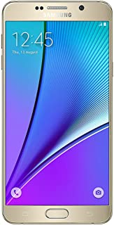 Samsung Galaxy Note 5 SM-N920T 32GB Gold for T-Mobile (Renewed)