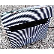 na-und PapierTiger Karteikasten Streifen Kartonage, Auswahl:A6 blau