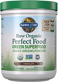 Garden of Life Raw Organic Perfect Food Green Superfood Juiced Greens Powder –..