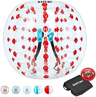 Inflatable Bumper Balls for Adults/Kids, Bumper Soccer Ball 5 FT(1.5M), Human Hamster Ball, Zorb Soccer
