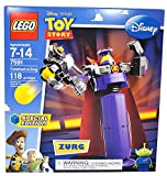 Lego Special Edition Disney Pixar Movie Toy Story Series Set #7591 - Construct-a-Zurg with Rotating Waist and Sphere-Shooting Cannon and Alien Minifigure (Total Pieces: 118)