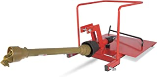 Eight24hours Attachments 3 Point Screw Type Auger Log Wood Splitter Cone Tractor PTO