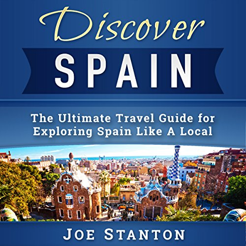 Discover Spain audiobook cover art