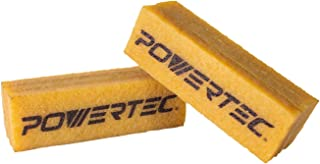 POWERTEC 71424 Abrasive Cleaning Stick for Sanding Belts & Discs Natural Rubber Build | For Woodworking Shop Sanding Perfection | A
