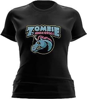 Movistar Riders Zombie Unicorns Camiseta para Mujer
