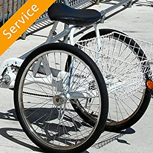 Adult Tricycle Assembly - In-Home