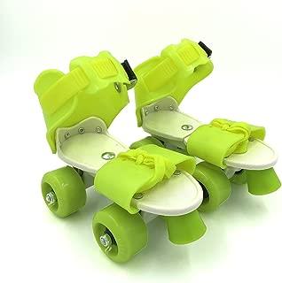Outinpro Kid's Children's Adjustable Speed Quad Roller Skates Shoes