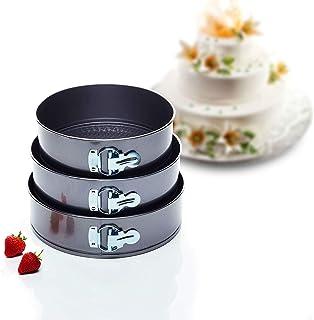Kitchen Craft Cake Tin Set Juego de Fuentes para Tortas con