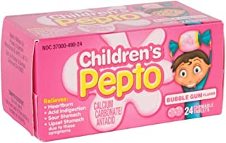 children's pepto chewable tablets