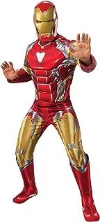 Rubie's Men's Marvel: Avengers 4 Deluxe Iron Man (New) Costume & Mask Adult Costume