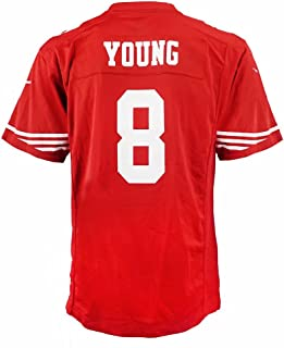 Nike Steve Young San Francisco 49ers NFL Red Game Team Jersey for Youth
