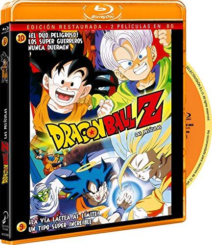 Pack Dragon Ball Z-¡La Vía Láctea Al Límite! Un Tipo Super Increíble+¡El Duo Peligroso! Los Super Guerreros Nunca Duermen. [Blu-ray]