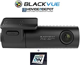 BlackVue New DR590W-1CH 32GB, Car Black Box/Car DVR Recorder, Full HD 1080p Front, 60FPS, Built-in Wi-Fi, G Sensor, 32GB SD Card + HDVD Warning Sign Included