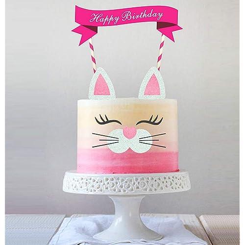 Pleasant Birthday Cakes For Cats Amazon Com Funny Birthday Cards Online Fluifree Goldxyz