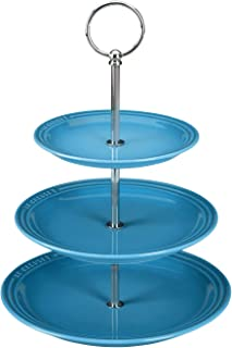 3 Tiered Stand - Caribbean Stoneware