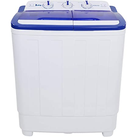 Twin Tub Wash/& Focusing Spin Combo for Apartment Portable Washing Machine