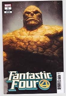 Fantastic Four #1 (2018) Variant Thing Stanley Artgerm Lau Cover