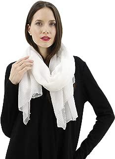 Women's Lightweight Solid Color Scarf Fashion Long Shawl Wrap