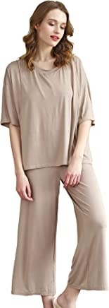 755fb054ec4ed Epinmammy Women's Soft Maternity & Nursing Pajama Set 2 Pcs Pregnancy  Sleepwear