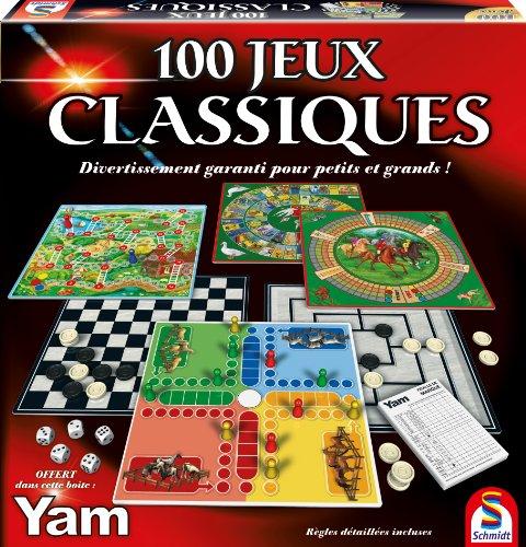 Mallette de jeux classiques