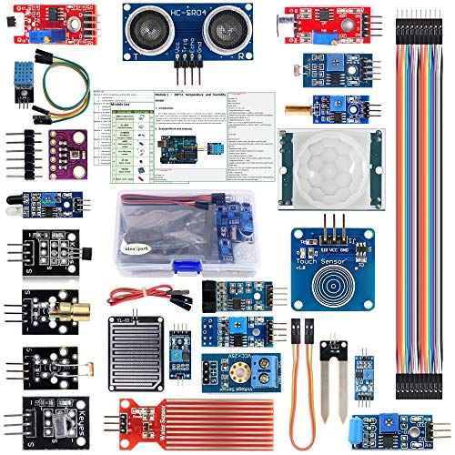 22 in 1 Sensor Modules Kit for Arduino Kit UNO R3 Nano V3.0 Mega 2560 Mega 328 Project Starter Kit Compatible with Arduino IDE(English Tutorial)