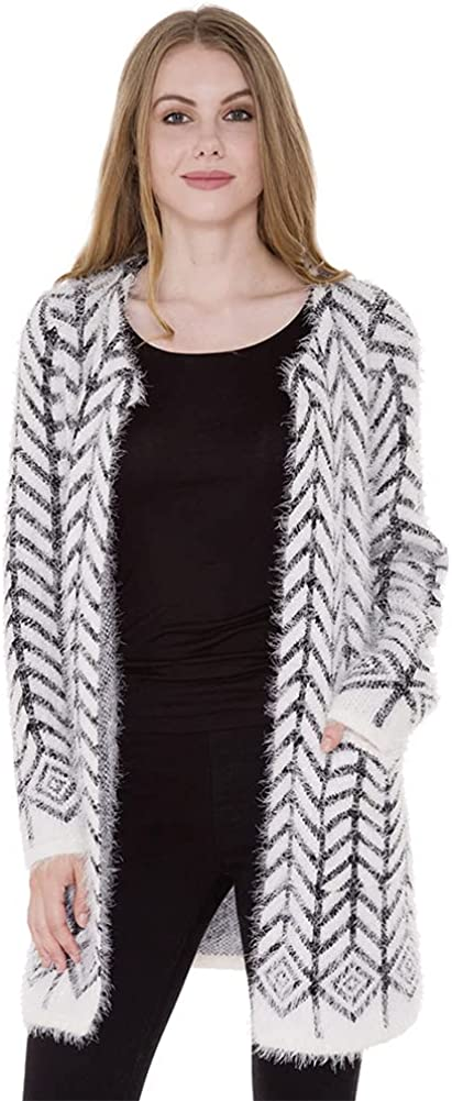 ScarvesMe Women's Inventory cleanup selling sale Fashion Elegant Cold Weather Pattern Knit Cardig Arrow