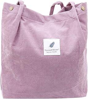 Sevenfly Cord Umhängetaschen Umwelt Einkaufstasche Tote Paket Crossbody Pouch Geldbörsen Casual Handtasche für Frauen, Lot...