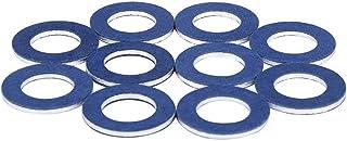 Zwbfu 10 peças de arruela de plugue de drenagem de óleo Motor de carro Juntas do cárter de óleo para Camry Lexus Corolla 9...