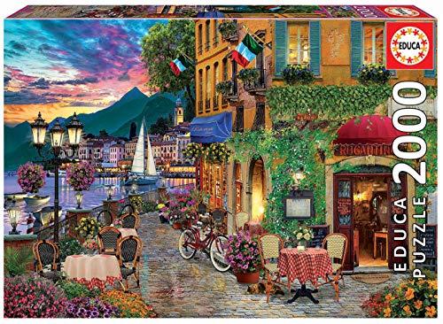 Educa - Italian Fascino Puzzle, 2000 Piezas, Multicolor (180