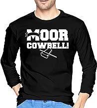 Abcdde MOOR Cowbell Men's Long-Sleeve T-Shirt