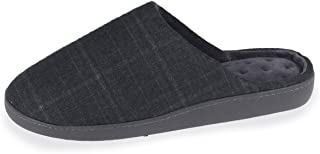 Isotoner Chaussons Mules Homme, Bleu