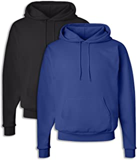 1 White Hanes P170 Mens EcoSmart Hooded Sweatshirt 3XL 1 Smoke Grey