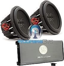 pkg Soundstream T1.6000DL Monoblock Amplifier + Pair of T5.152 15