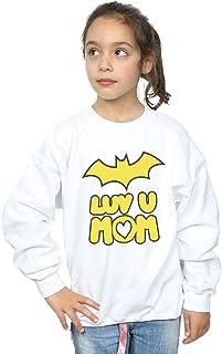 DC Comics Girls Batgirl Luv You Mom Sweatshirt