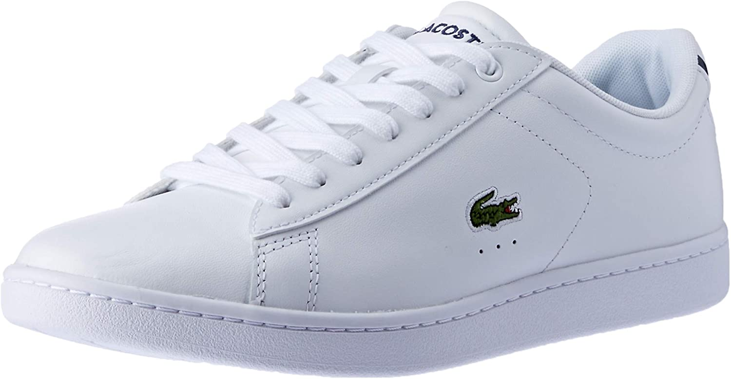 Lacoste Womens White Carnaby EVO BL 1 SPW Trainers
