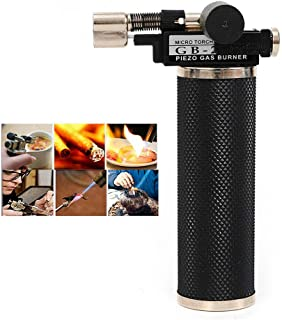 Portable Fuser, Micro Piezo Gas Torch Jewelry Gold Silver Copper Welding Soldering Melting Tool - US Shipping