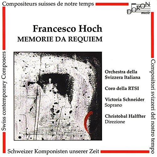 Victoria Schneider, Christobal Halffter, Coro della Radio Televisione della Svizzera Italiana & Orchestra Della Svizzera Italiana